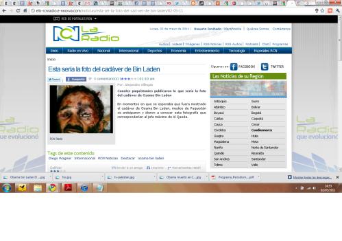 Al Qaeda no existe - Bin Laden ha muerto Rcn-radio